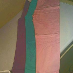 3FOR 15 Girls leggings sz5/6-----4/5